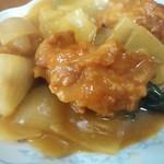 新華苑 - 料理写真:ザンキのカレー煮