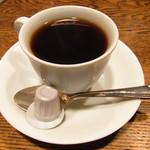 喫茶ルオー - カレーに付いているコーヒー