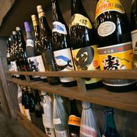 鹿児島芋焼酎をはじめ、こだわりの全国各地の銘酒集めました!