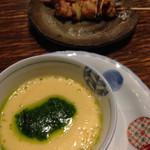 釜くら - 茶碗蒸しと串焼き