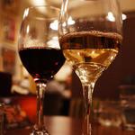 ハース - 小銭をプラスするだけでランチドリンクがワインに(ΦωΦ)嬉しい!