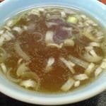 35617375 - チャーハン\650 スープ