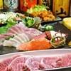 居酒屋 絆 - 料理写真:1番人気の極みコース。120分飲み放題付き5000円!