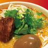 刀削麺荘 唐家 - 料理写真:『濃厚ねりゴマ麻辣刀削麺』全部のせ