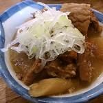 かぶら屋 - かぶら屋 蒲田店 もつ煮 280円(税別)