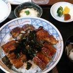川長 - 「うなぎ丼」(2,220円)