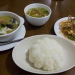 ラーンガンエーン - 定食