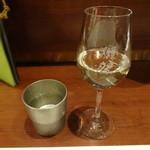 旬鮮炭火焼 獺祭 - 無濾過生酒の陸奥八仙(青森)純米