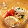 柿安ダイニング - 料理写真:鯛のカルパッチョサラダ