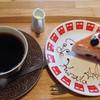 クラタ - 料理写真:ベリーレアチーズケーキと珈琲のセット 800円