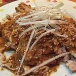 長楽 - 『棒棒鶏』様(780円)野菜は殆どなしの鶏鶏した一品!