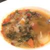 アスペルジュ - 料理写真:セットのミネストローネ