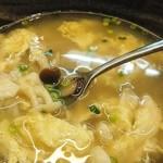 隠れ家ダイニングCu-Suke - クースケのシメアップ☆ふわふわかきたまときのこ、玉ねぎの優しいお味の雑炊