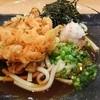 海鮮和食 なぶら  - 料理写真:かき揚げうどん