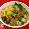 AIRPORT KOPI TIAM - 料理写真:Egg Noodle Soup with Shrimp & BBQ Pork