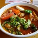 カレー食堂 心 - 牡蠣のスープカレー