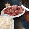 スタミナ苑 - 料理写真:ハラミ定食 ¥1050