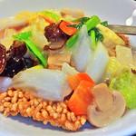 中国料理 水晶楼 - 海鮮おこげ