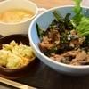 ホヌコーヒー - 料理写真:生姜焼き丼ランチ