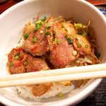 らむ蔵 - ラム肉は想像以上に柔らかく、脂身も抵抗なくいただける