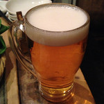 35715009 - 生ビール。エビスと黒ラベルが頂けます。