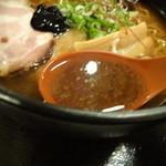 札幌鮭ラーメン麺匠 赤松 - スープアップ