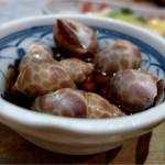 恵美寿屋 - お通し、バイ貝