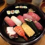 加茂寿司 - にぎり1.5人前