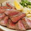 ひなた - 料理写真:580えん『和牛レアステーキ』2015年3月