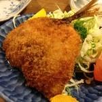 魚佐次 - アジフライ単品2015年3月