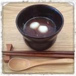 オナリヤ - 食後のスィーツ 白玉のおぜんざい  どれもこれもと~っても美味しい!