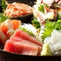産直鮮魚を堪能!7点盛がなんとお通しで!380円!!!