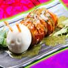 コスプレ居酒屋 LittleBSD ~小悪魔の宴~ - 料理写真:ワームロール。見た目はアレだが味はまるでチキンのよう。