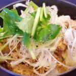 志奈そば 田なか - 黒胡椒豚のっけご飯(さっぱり)