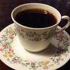 清水坂茶房 さえら - ドリンク写真:ケーキセット(コーヒー・チョコレートケーキ) 980円