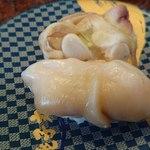 すし 銚子丸 - ほっき貝