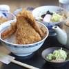 めん処 利休 - 料理写真:白醤油ヒレカツ丼