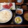 遠州屋 - 料理写真:まぐろぶつ切り定食(700円)