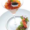 KINGLY DINING&BAR - 料理写真:ズワイ蟹と天使の海老のロワイヤル キャビア添え