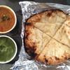 アイキッチン - 料理写真:テイクアウトチーズナン  キーマ ほうれん草