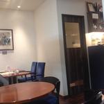 香月珈琲店 - 喫煙室もある