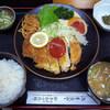 やきかつ太郎 - 料理写真:やきかつ定食・上(880円)