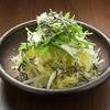 [白菜と水菜の塩昆布サラダ]サラダ