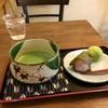 三河屋 - 料理写真:お抹茶と、桜餅、うぐいす餅をいただきました