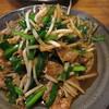 名菜厨房 やすや - 料理写真:レバニラ定食(\680)