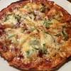 時間割 - 料理写真:「ミックスピザ (小)」1,500円