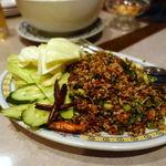 タイ料理レストラン ジンラック - ラープ・ムー・ガイ 1500円 豚ひき肉サラダ