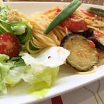 浅草茶房 - Tomato pasta