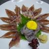 Kappouogawa - 料理写真:ホタルイカの造りです。