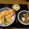 南部家敷 - 料理写真:天丼・かけそばセット